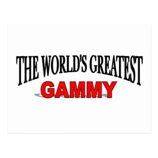 The World's Greatest Gammy Postcard