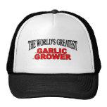 The World's Greatest Garlic Grower Trucker Hat