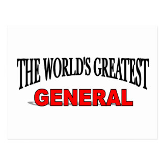 The World's Greatest General Postcard