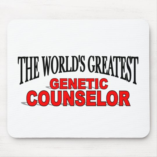 The World's Greatest Genetic Counselor Mouse Pad