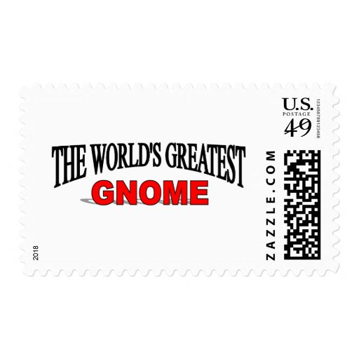 The World's Greatest Gnome Stamp