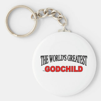 The World's Greatest God Child Key Chains