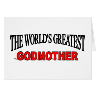 The World's Greatest God Mother Card