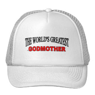 The World's Greatest God Mother Hats