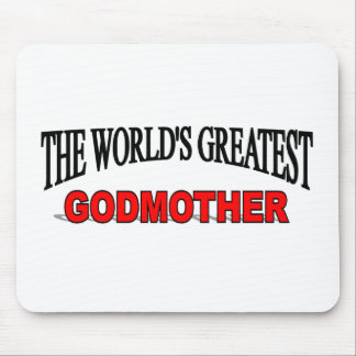 The World's Greatest God Mother Mouse Pad