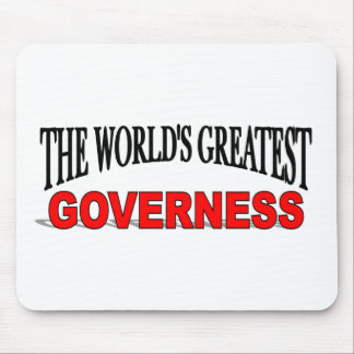 The World's Greatest Governess Mouse Mats