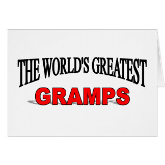 The World's Greatest Gramps Card