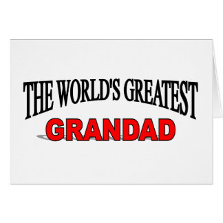The World's Greatest Grandad Greeting Card