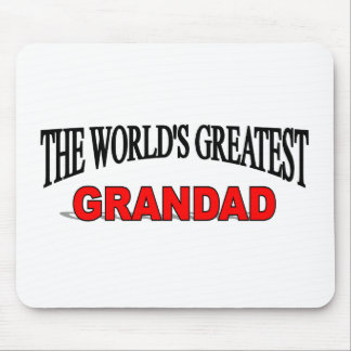The World's Greatest Grandad Mouse Pad