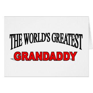 The World's Greatest Grandaddy Greeting Card