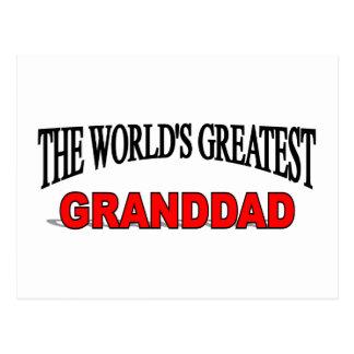 The World's Greatest Granddad Postcard
