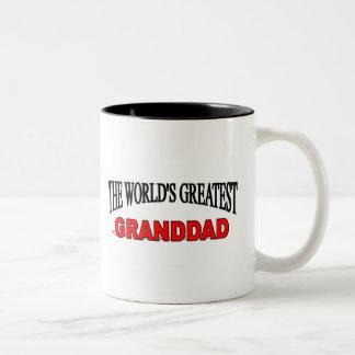 The World's Greatest Granddad Two-Tone Coffee Mug