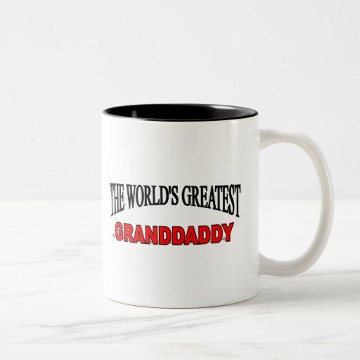 The World's Greatest Granddaddy Two-Tone Coffee Mug