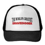 The World's Greatest Gravedigger Mesh Hat