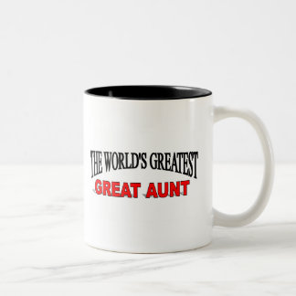 The World's Greatest Great Aunt Mugs