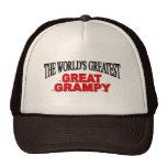The World's Greatest Great Grampy Trucker Hat