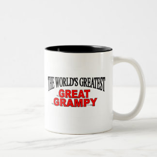 The World's Greatest Great Grampy Two-Tone Coffee Mug