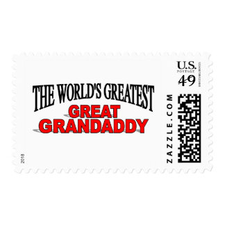The World's Greatest Great Grandaddy Postage Stamp