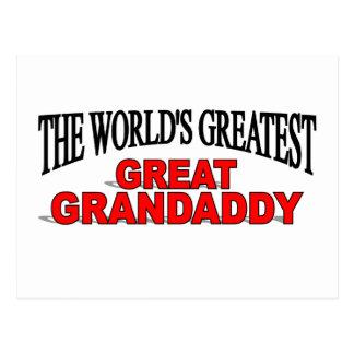 The World's Greatest Great Grandaddy Postcard