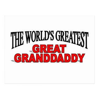 The World's Greatest Great Granddaddy Postcard