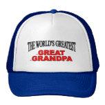 The World's Greatest Great Grandpa Trucker Hat