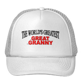 The World's Greatest Great Granny Trucker Hat