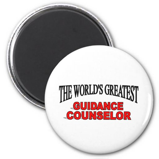 The World's Greatest Guidance Counselor 2 Inch Round Magnet
