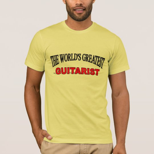 The World's Greatest Guitarist T-Shirt