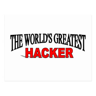 The World's Greatest Hacker Post Card