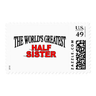 The World's Greatest Half Sister Stamp
