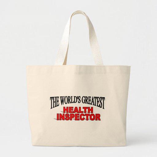 The World's Greatest Health Inspector Bag