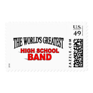 The World's Greatest High School Band Stamp