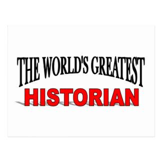 The World's Greatest Historian Postcard