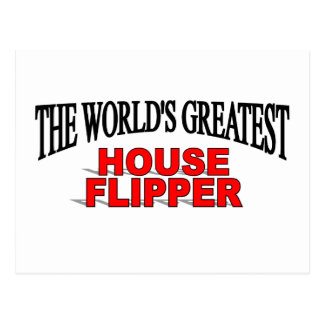 The World's Greatest House Flipper Post Card