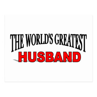 The World's Greatest Husband Postcards
