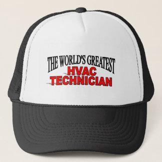 The World's Greatest HVAC Technician Trucker Hat