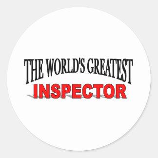 The World's Greatest Innkeeper Classic Round Sticker