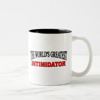 The World's Greatest Intimidator Two-Tone Coffee Mug