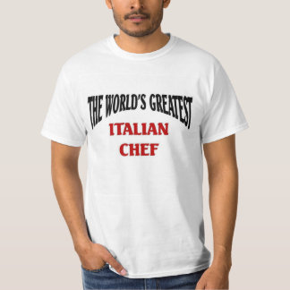 The World's Greatest Italian Chef T-Shirt