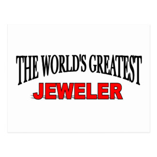 The World's Greatest Jeweler Postcard