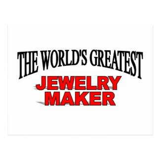 The World's Greatest Jewelery Maker Postcard