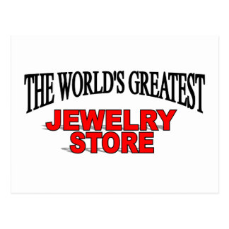 The World's Greatest Jewelery Store Postcard