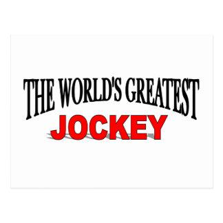 The World's Greatest Jockey Post Card