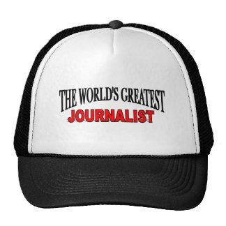 The World's Greatest Journalist Trucker Hat