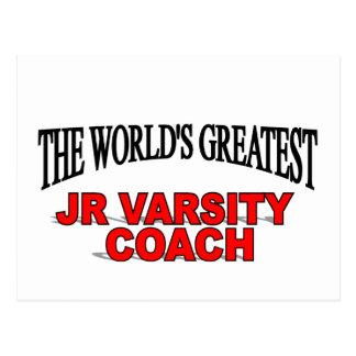 The World's Greatest JR Varsity Coach Postcard
