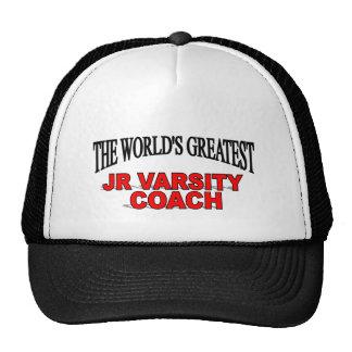 The World's Greatest JR Varsity Coach Trucker Hat