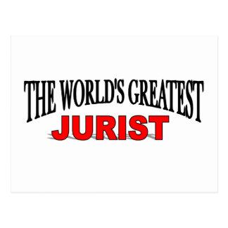 The World's Greatest Jurist Postcard