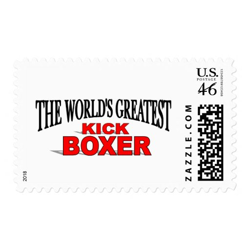 The World's Greatest Kick Boxer Stamps