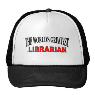 The World's Greatest Librarian Mesh Hat
