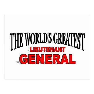 The World's Greatest Lieutenant General Postcard
